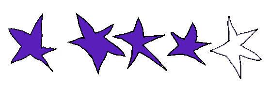 sterren-4-d-paars
