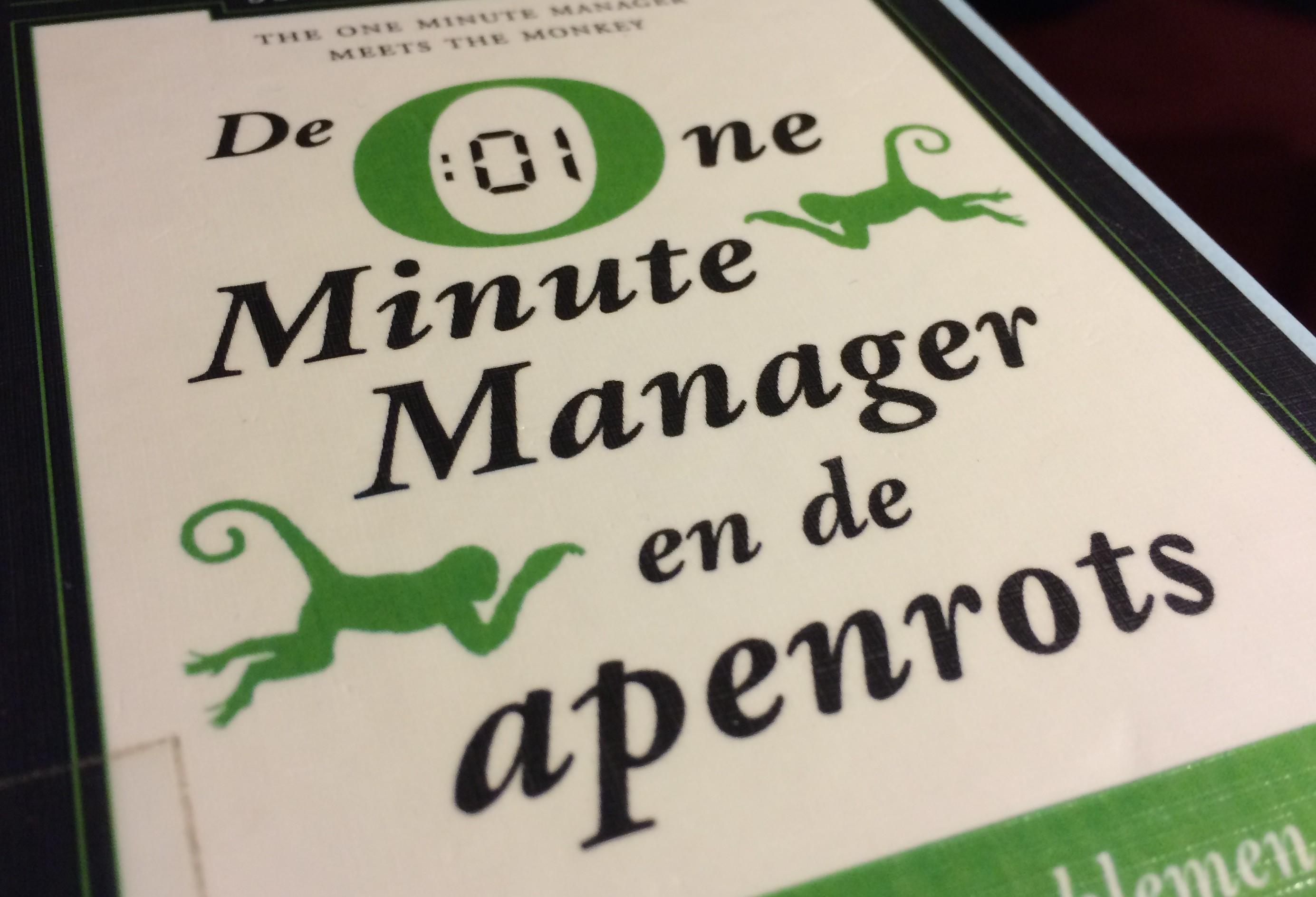 one-minute-manager-en-de-apenrots