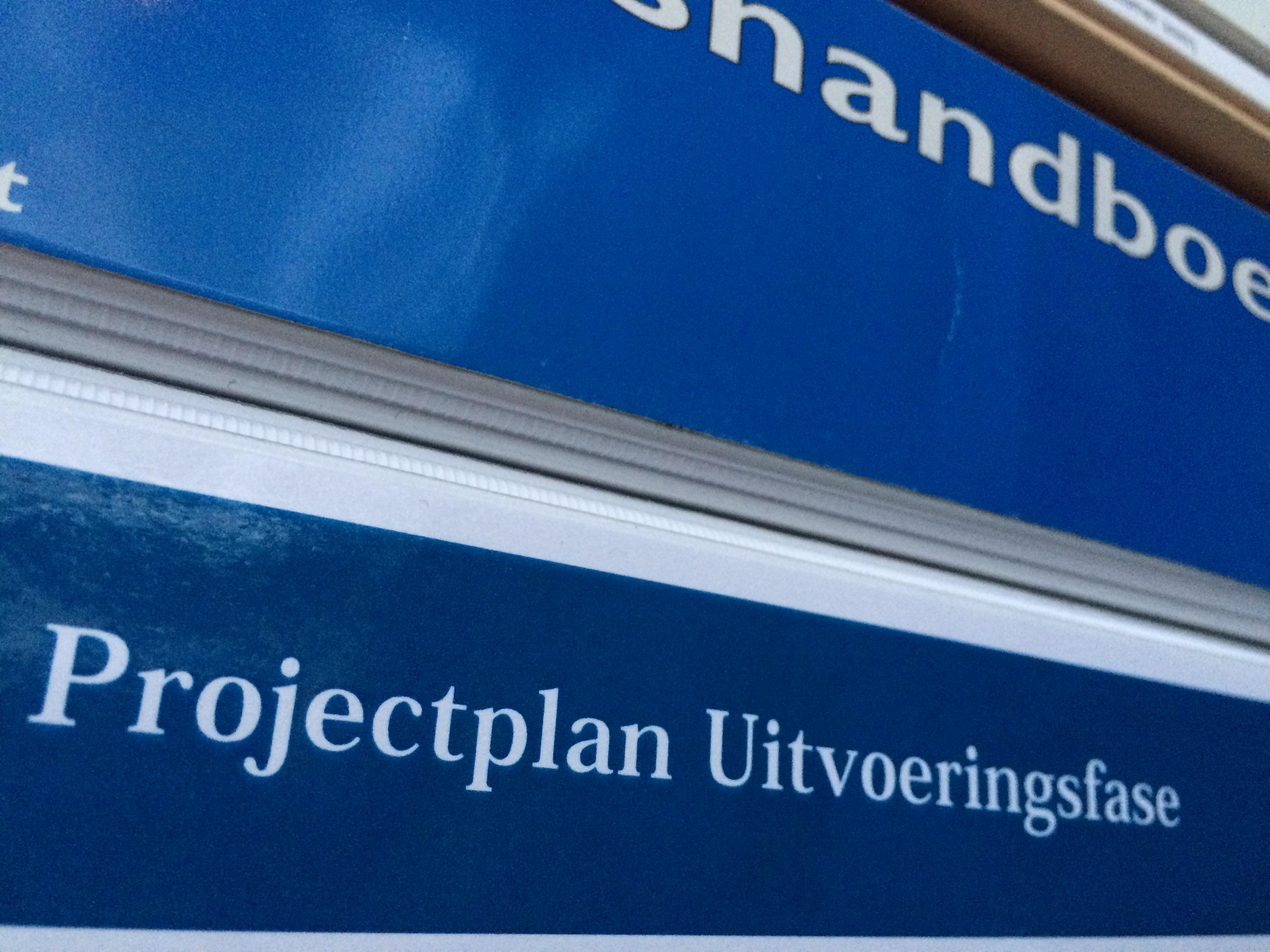 projectplan-uitvoeringsfase